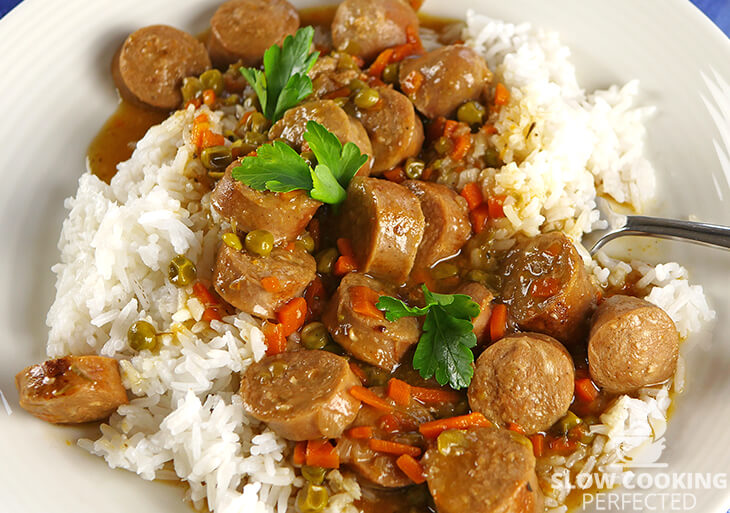 Sausage Casserole with Rice