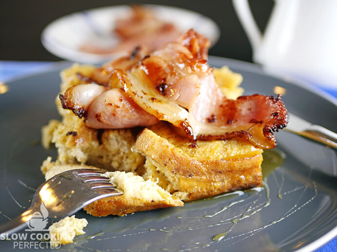 French Toast Casserole with Bacon