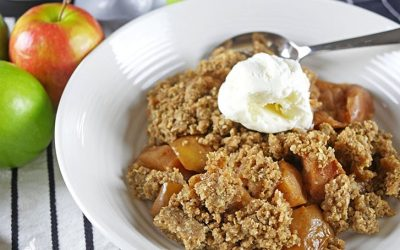 Delicious Slow Cooker Apple Crisp