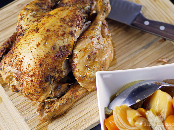 Whole Chicken with Vegetables