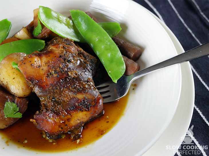 Honey Garlic Chicken from the Slow Cooker