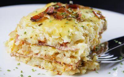 Delicious Slow Cooker Breakfast Casserole