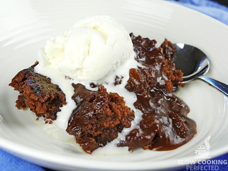 Self-Saucing Chocolate Cake