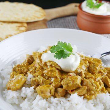 Slow Cooker Korma