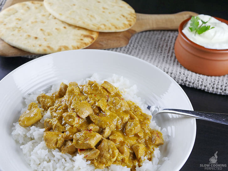 Slow Cooker Chicken Korma Curry