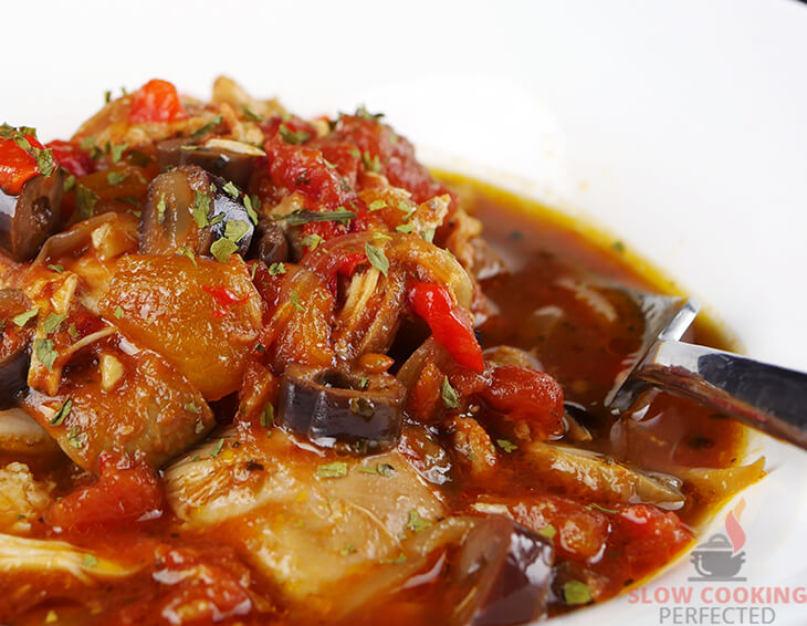 Chicken Cacciatore from the Slow Cooker