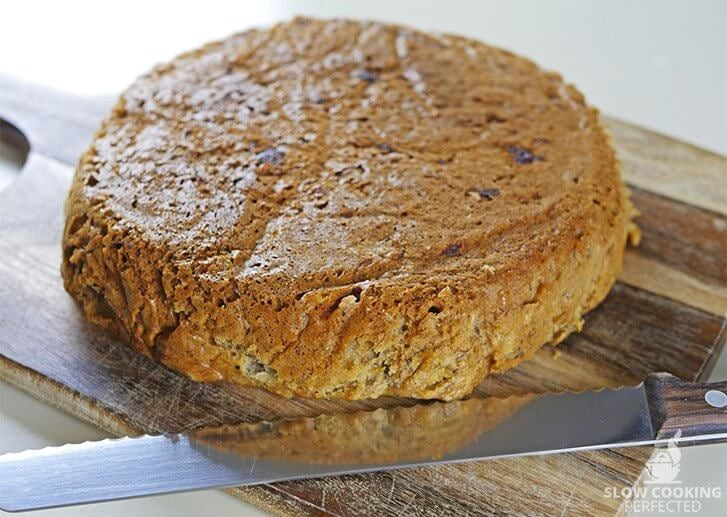 Banana Bread from out of the Slow Cooker