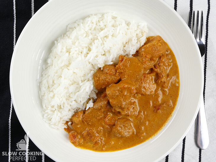 Slow Cooker Chicken Tikka Masala using Homemade Curry Paste