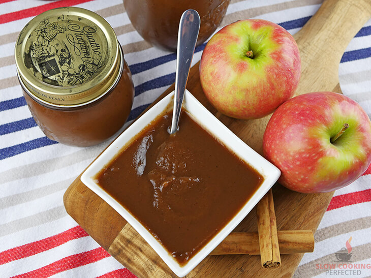 Apple Butter Cooked in a Slow Cooker