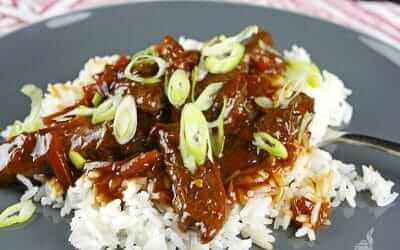 Simply Delicious Slow Cooker Mongolian Beef