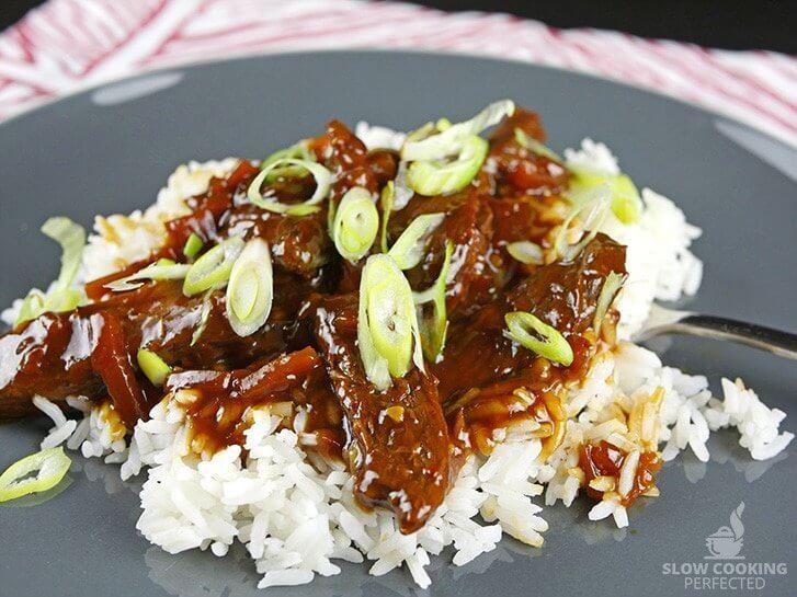Slow Cooker Mongolian Beef v2