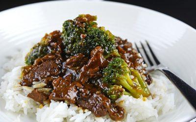 Amazing Slow Cooker Beef and Broccoli