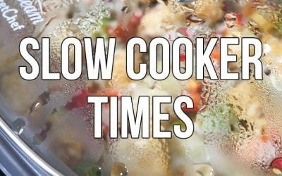 Slow Cooker Times: Timing Your Food for Perfection