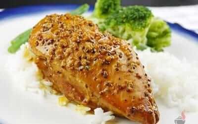 Delicious Slow Cooker Honey Mustard Chicken