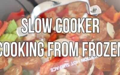 Slow Cooker Frozen Chicken & Meat Dangers