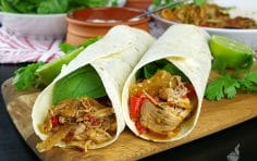 Flavor Packed Slow Cooker Chicken Fajitas