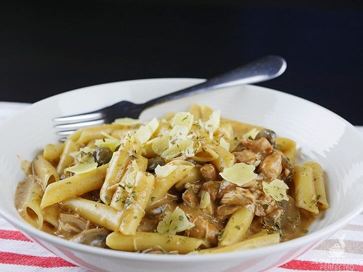 Creamy Slow Cooker Chicken Stroganoff - Slow Cooking Perfected