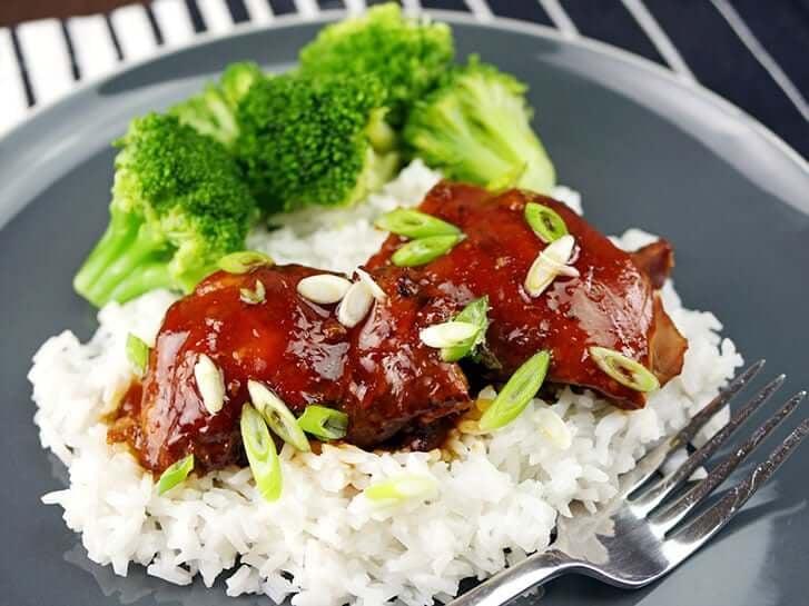 Slow Cooker Teriyaki Chicken