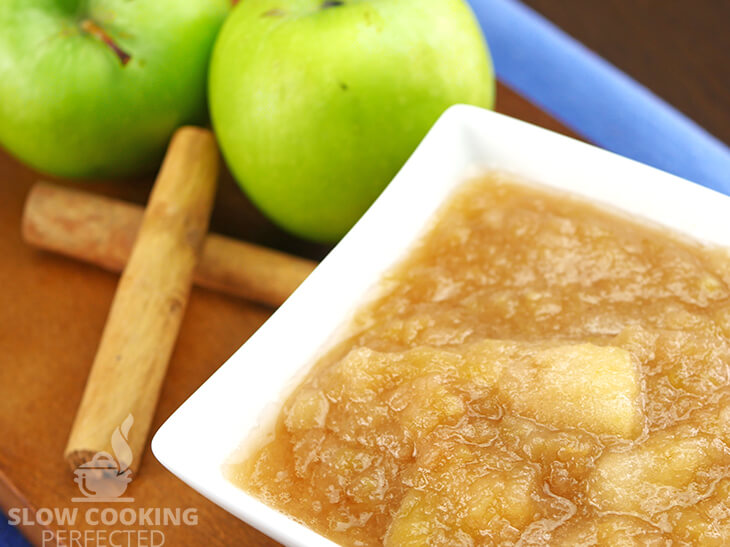 Applesauce made in the Slow Cooker