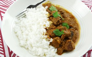 Slow Cooker Lamb Rogan Josh