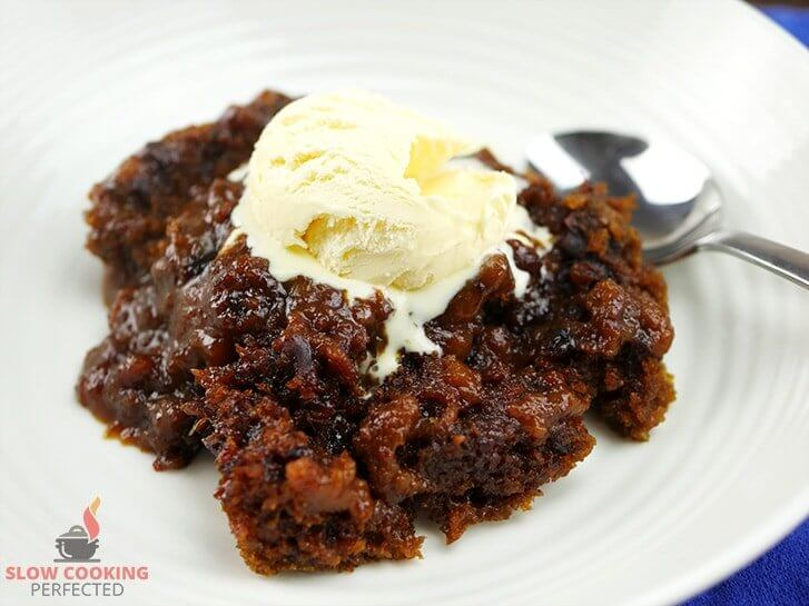 Date Cake Boiling Water Butter