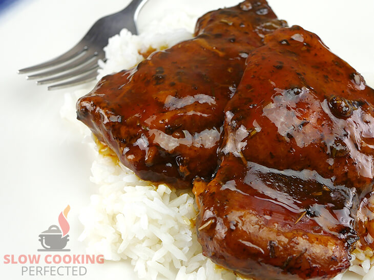 Honey Balsamic Chicken from the Slow Cooker