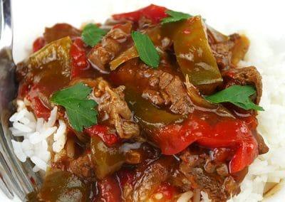 Tender Pepper Steak