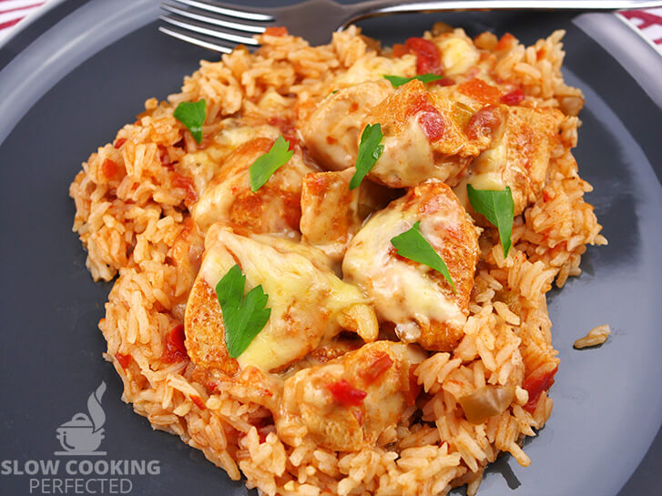 Salsa Chicken with Mexican Rice