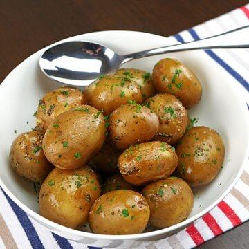 Slow Cooker Baby Potatoes