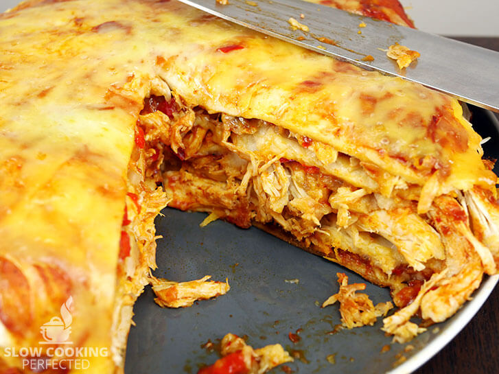 Chicken Enchiladas from out of the Slow Cooker