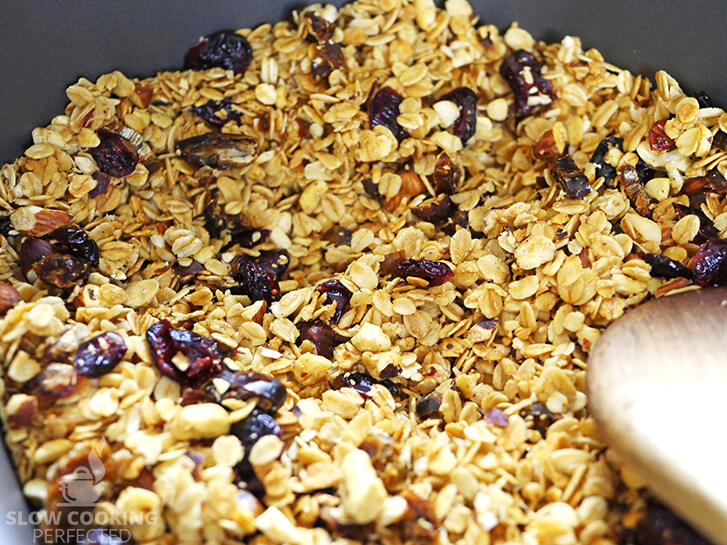 Honey Nut Granola Cooked in the Slow Cooker