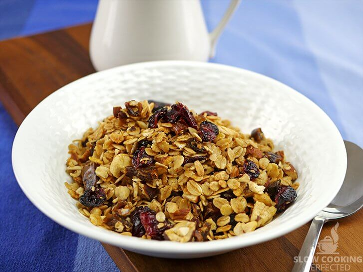 Granola from the slow cooker