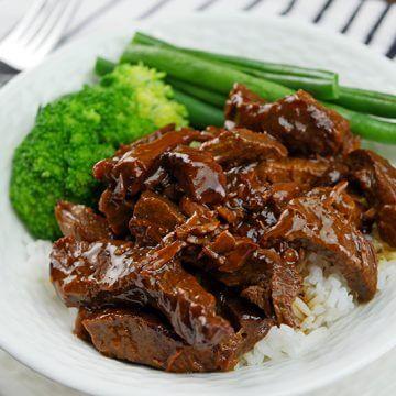 Slow Cooker Teriyaki Beef