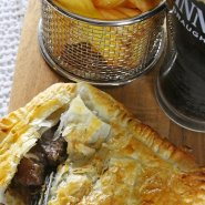 Slow Cooker Beef and Guinness Pie