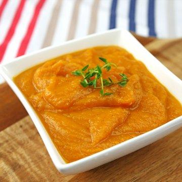 Slow Cooker Mashed Sweet Potato
