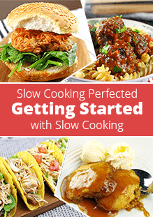 Getting Started with Slow Cooking eBook Cover