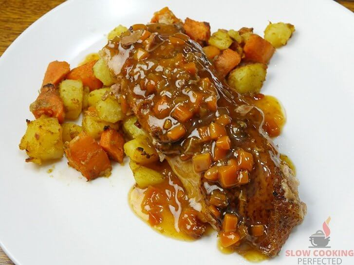 Slow Cooker Duck a l'Orange