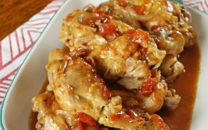 Slow Cooker French Onion Chicken