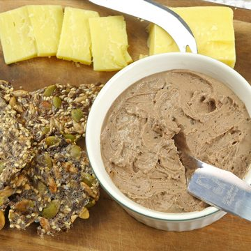 Slow Cooker Chicken Liver Pate