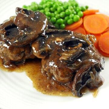 Slow Cooker Salisbury Steak