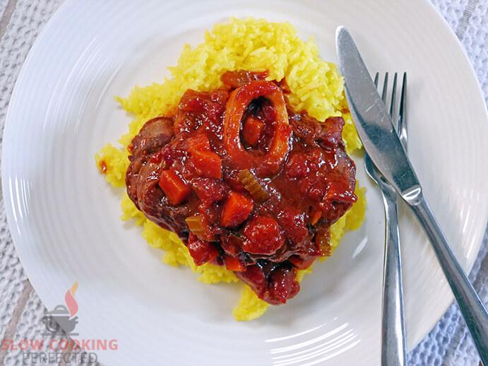 Osso Buco with Saffron Rice