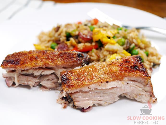 Pork Belly Crackling