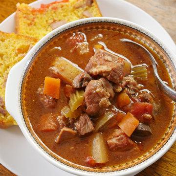 Slow Cooker Pork Stew
