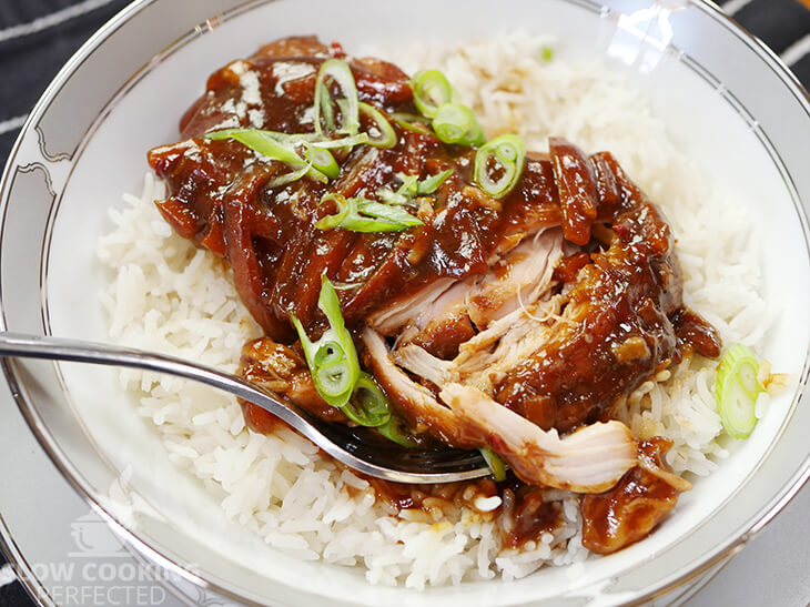 Slow-Cooked Mongolian Sauce with Chicken