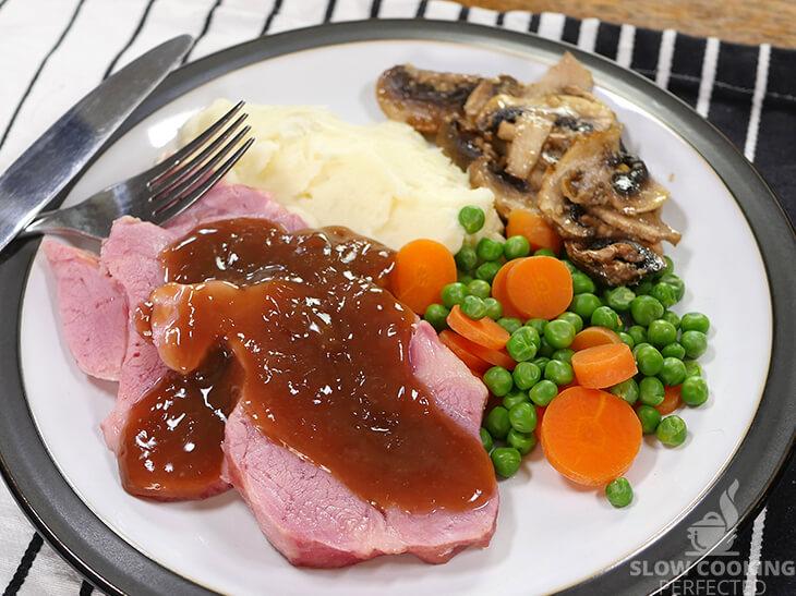 Slow Cooker Pickled Pork