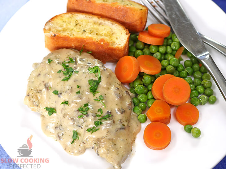 Slow-cooked creamy ranch pork chops
