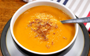 Slow Cooker Sweet Potato Soup
