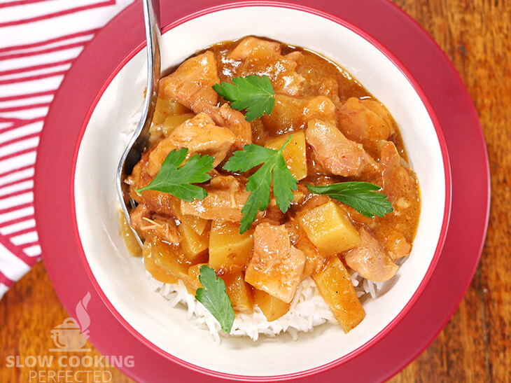 Slow-Cooked Massaman Chicken Curry v1