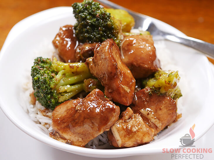 Slow-Cooked Chicken and Broccoli