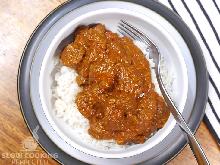 Beef Rogan Josh with Steamed Rice